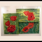 Grouping of Oriental_Poppies