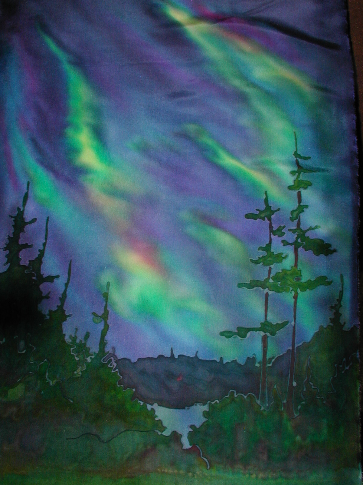 SILK WALLHANGING: Skyscapes 205