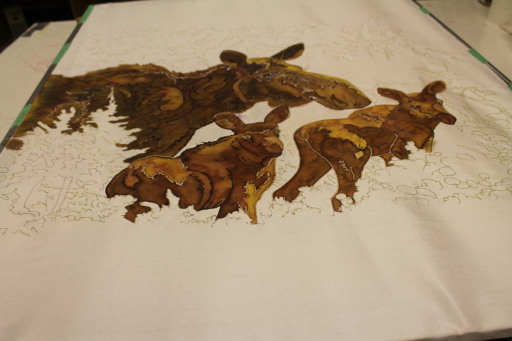 About Silk Painting
